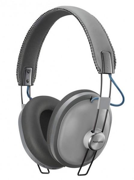 Panasonic RP-HTX80BE-H Bluetooth Kopfhörer grau