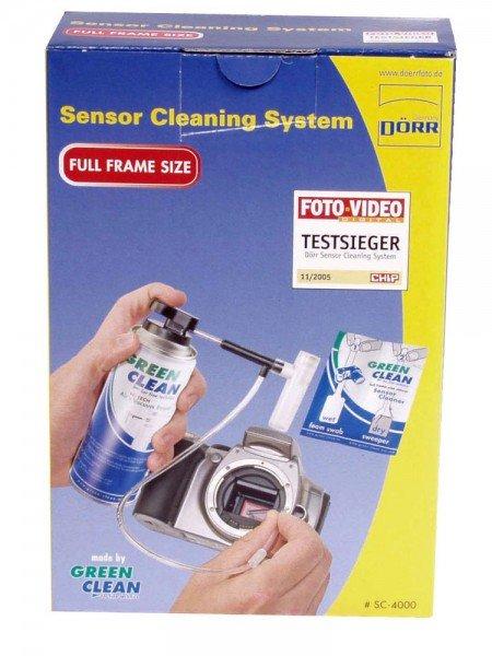 Dörr Sensor Cleaning System für kleine Sensoren