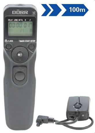Dörr Funkfernauslöser mit Timer SRT-100 Canon C3 für EOS 5D MKIII EOS 7D MKII 6D