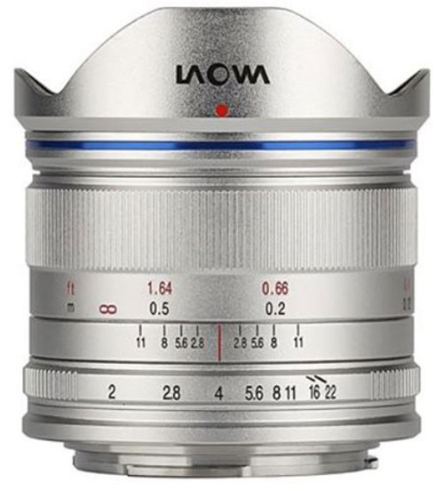 Laowa 7.5mm 2.0 für MFT silber