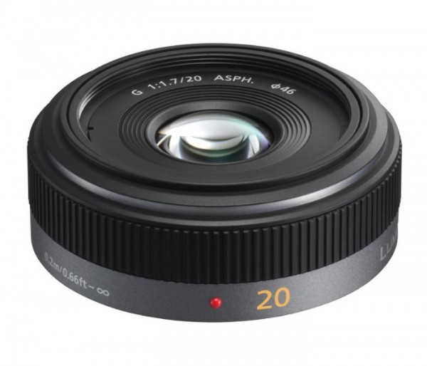 Panasonic Lumix G 20mm 1.7 Asph. * 7902