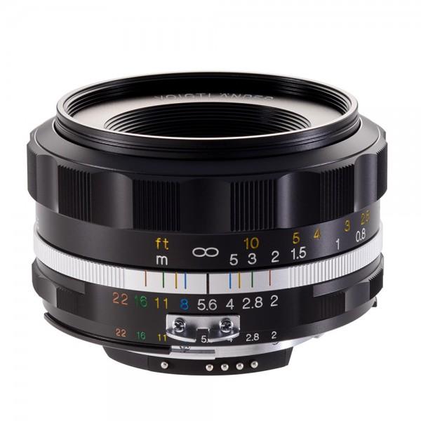 Voigtländer Ultron 40mm 2.0 SLII-S asph. schwarz für Nikon AIS