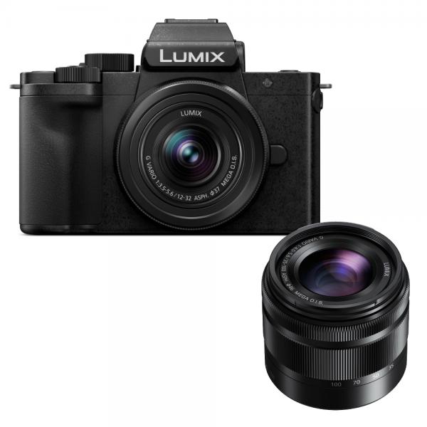 Panasonic Lumix DC-G110 + Lumix G Vario 12-32mm 3.5-5.6 + Lumix G Vario 35-100mm 4.0-5.6