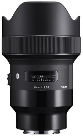 Sigma Art 14mm 1.8 DG HSM für Sony E-Mount