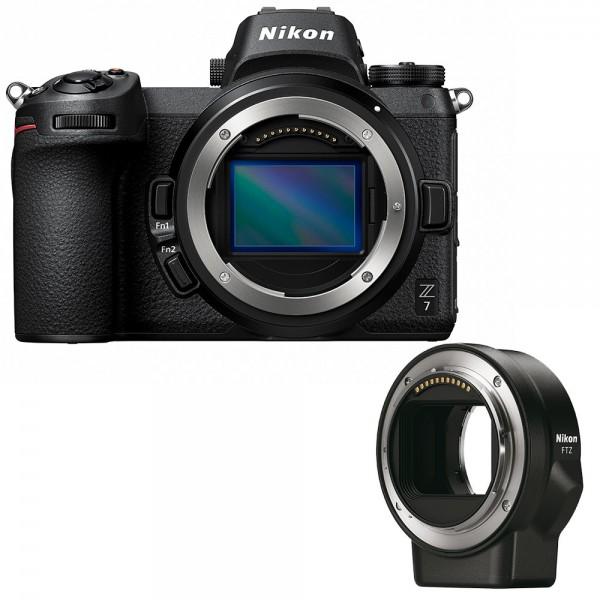 Nikon Z7 Gehäuse + Adapter