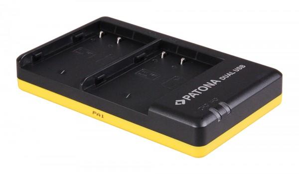 Patona Dual Schnell-Ladegerät für Panasonic DMW-BLF19E