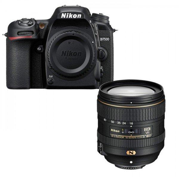 Nikon D7500 + NIKKOR AF-S 16-80mm 2.8-4 E ED VR