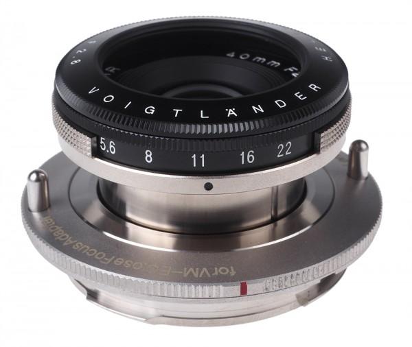 Voigtländer Heliar 40mm 2.8 VM OHNE Adapter für Leica M
