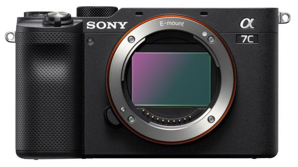 Sony Alpha 7C schwarz Gehäuse