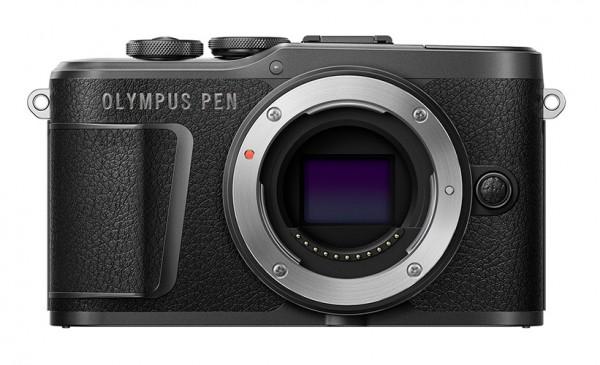 Olympus PEN E-PL10 schwarz Gehäuse