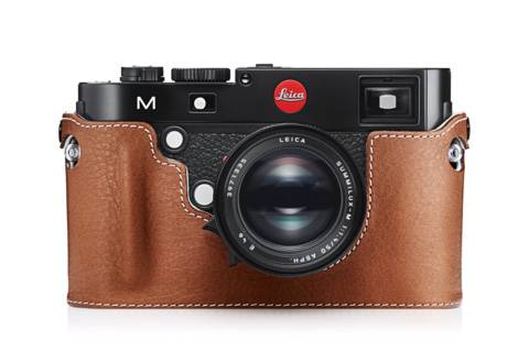 Leica Kamera Protektor für Leica M/ M-P (Typ 240) 14887 cognac