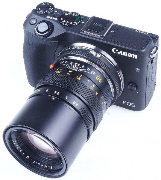 Adapter Leica M Objektiv an Canon EOS M