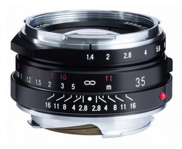 Voigtländer Nokton 35mm 1.4 M.C. VM II für Leica M