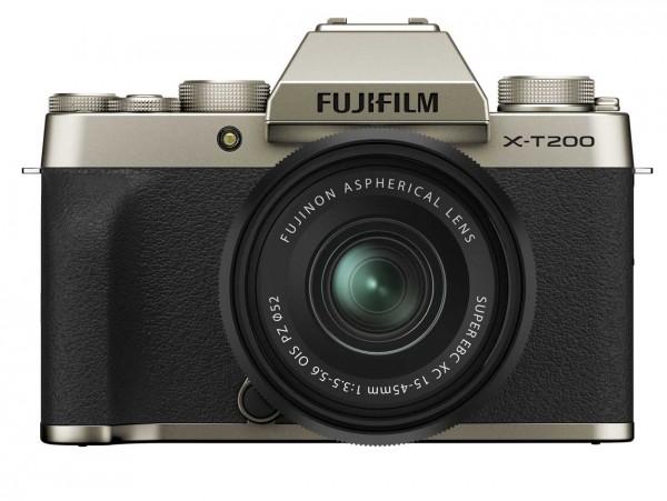 Fujifilm X-T200 gold + XC15-45mm 3.5-5.6 OIS PZ