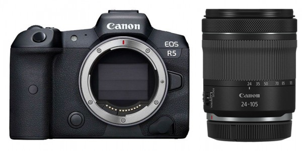 Canon EOS R5 + RF 24-105mm 4-7.1 IS STM