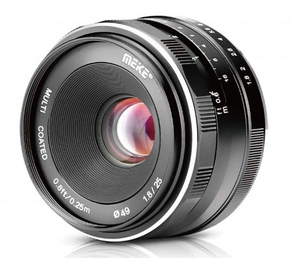 Meike 25mm 1.8 für Sony E-Mount