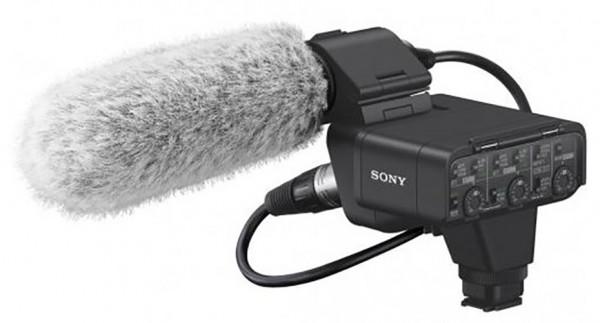 Sony XLR-K3M Adapter-Kit + Mikrofon