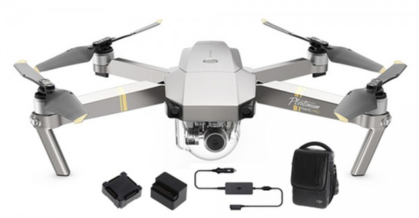 DJI Mavic Pro Platinum Quadrocopter FLY MORE Combo 3762