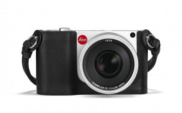 Leica Kamera Protektor für Leica TL schwarz 18578