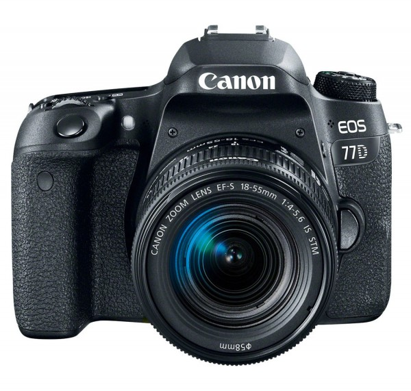 Canon EOS 77D + EF-S 18-55mm 4.0-5.6 IS STM
