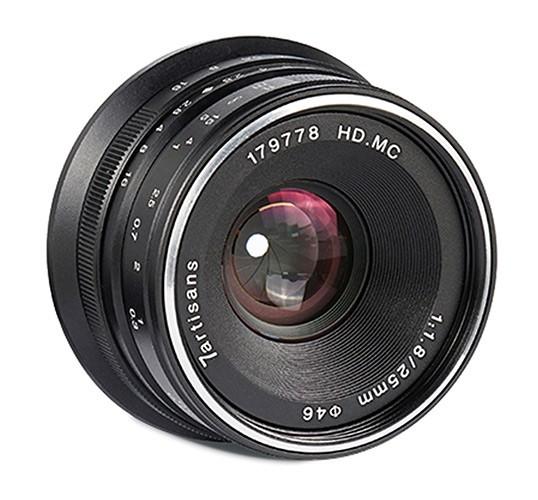 7Artisans 25mm 1.8 für Canon EF-M