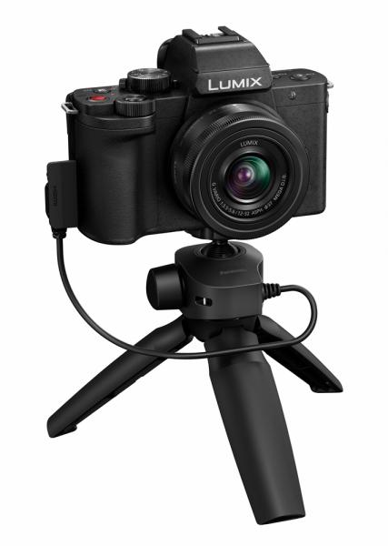 Panasonic Lumix DC-G110 + 12-32mm 3.5-5.6 + Stativ Griff