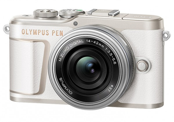 Olympus PEN E-PL10 weiß + 14-42mm 3.5-5.6 EZ silber