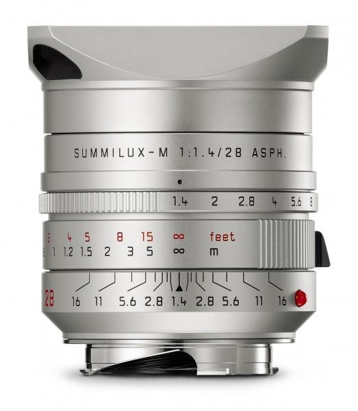 Leica Summilux-M 28mm 1.4 ASPH. silber eloxiert 11911