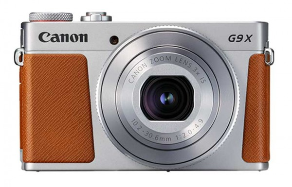 Canon PowerShot G9 X Mark II braun