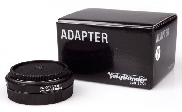 Voigtländer Adapter VM / E II Leica M an Sony E-Mount
