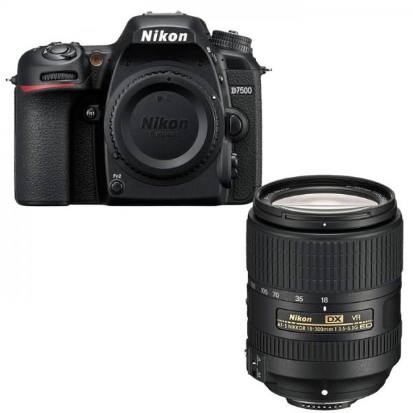 Nikon D7500 + NIKKOR AF-S DX 18-300mm 3.5-6.3 G ED VR