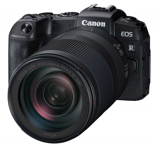 Canon EOS RP + RF 24-240mm 4.0-6.3 IS USM