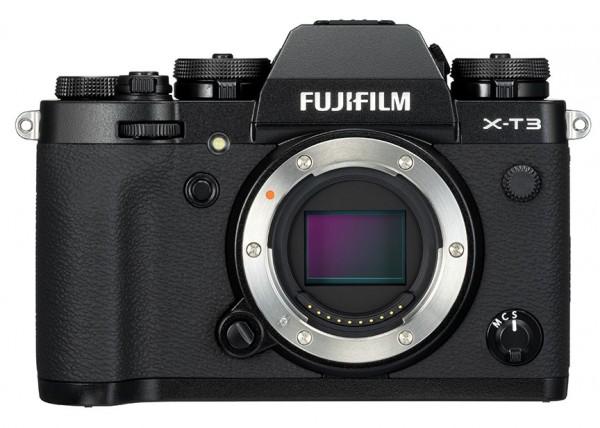 Fujifilm X-T3 schwarz Gehäuse Ausstellungsstück #0809