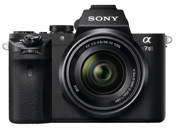 Sony Alpha 7 II + FE 28-70mm 3.5-5.6 OSS