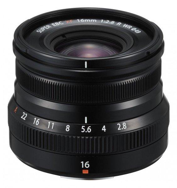 Fujifilm Fujinon XF16mm 2.8 R WR schwarz