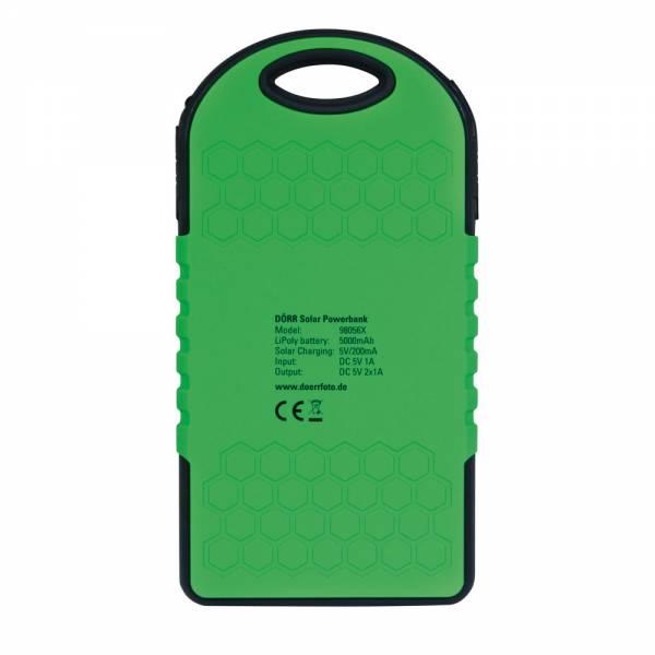 Dörr SC-5000 Solar Powerbank schwarz/grün