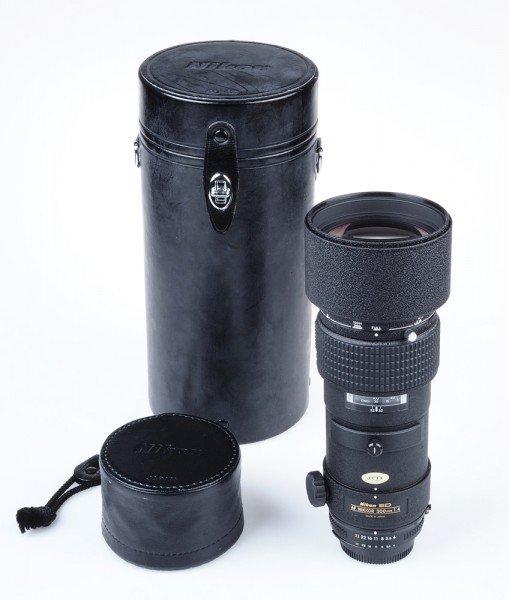 Nikon Nikkor AF ED 300mm 4.0 Teleobjektiv Hammerschlag * B905