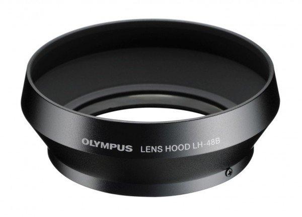 Olympus LH-48B Gegenlichtblende schwarz für M.Zuiko Digital 17mm 1.8
