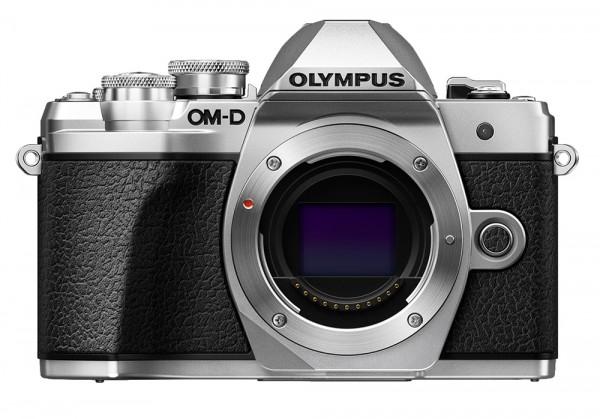 Olympus OM-D E-M10 Mark III silber Gehäuse