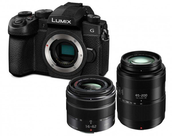 Panasonic Lumix DC-G91 + 14-42mm 3.5-5.6 ASPH. O.I.S. II + 45-200mm 4.0-5.6 O.I.S. II