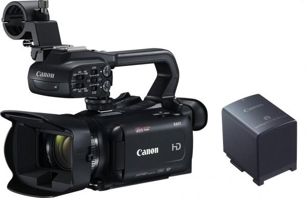 Canon XA11 Camcorder + BP-820 Akku