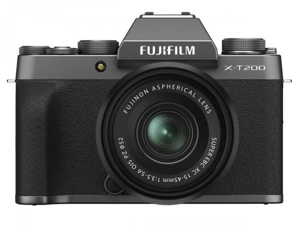 Fujifilm X-T200 anthrazit + XC15-45mm 3.5-5.6 OIS PZ