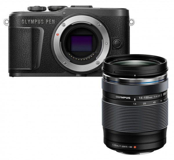 Olympus PEN E-PL10 schwarz + ED 14-150mm 4.0-5.6 II
