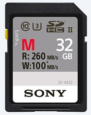 Sony SDHC-Karte 32GB M-Type UHS-II U3 260MB/s