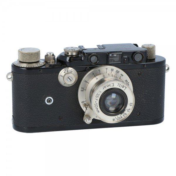 Leica I + Leica Elmar 50mm 3.5 nickel * 8310