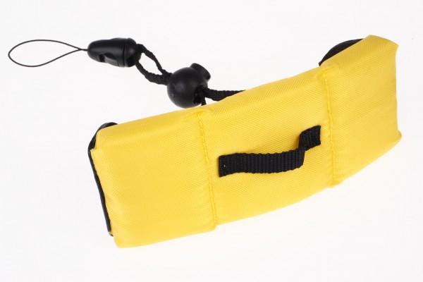 Waterproof schwimmende Handschlaufe für Digitalkameras gelb