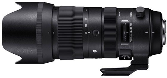Sigma S 70-200mm 2.8 DG OS HSM für Nikon