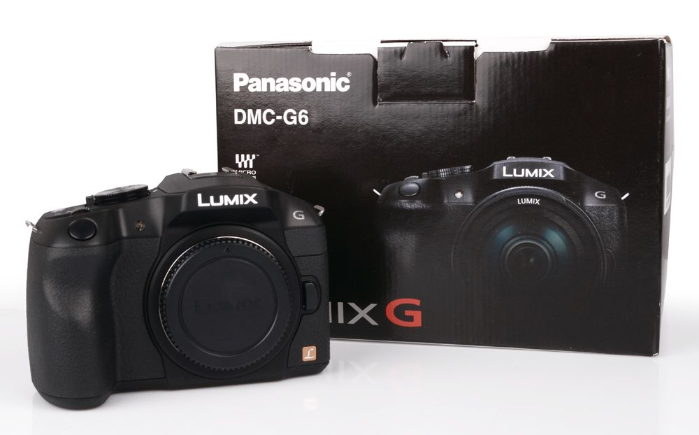 panasonic lumix dmc g6 g 6 digitalkamera geh use 16mp ausstellung ebay. Black Bedroom Furniture Sets. Home Design Ideas